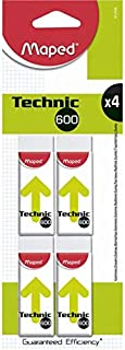 Maped Technic 600 Eraser Set of 4 Pieces