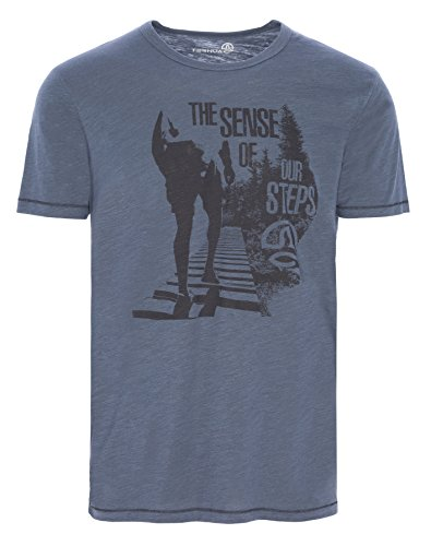Ternua® raheen T-Shirt, Homme M Gris (Mousse Grey)