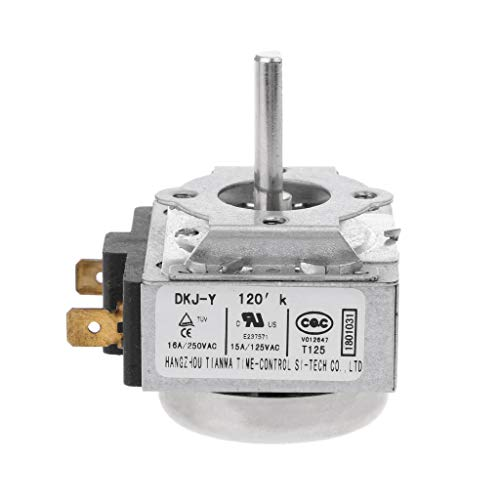 YOYOHO Interruptor de Temporizador de retardo de 120 Minutos 15A para Cocina de Horno microondas electrónica - Y120
