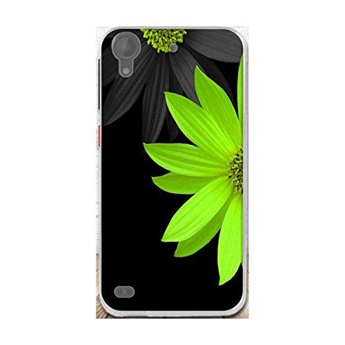 HTC Desire 630 Hülle,Desire 530 Hülle,Gift_Source [Grüne Blume] Ultra Dünn Schlank Silikon Bumper Soft TPU Schutzhülle Hülle Weiche Stoßfest Rutschfest Slim Gummi Handyhülle für HTC Desire 630/530 5.0