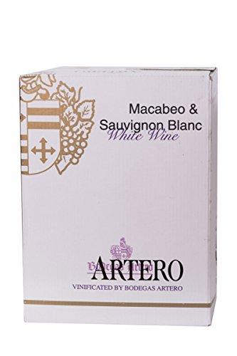 Artero Macabeo & Sauvignon Blanc in bag-in-box Weisswein - 5 Liter