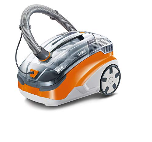 Thomas 788568 Family Aqua+ Pet & Family Aspirateur, 1700 W, 1.8 liters, Orange/Gris