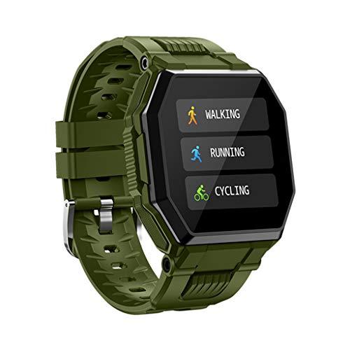 ZXQZ Relojes de Pulsera Reloj Inteligente con IP67 A Prueba de Agua, Reloj Deportivo Resistente de 1,54', Rastreador de Actividad del Podómetro, Reloj Inteligente Al Aire Libre para Hombres Watches