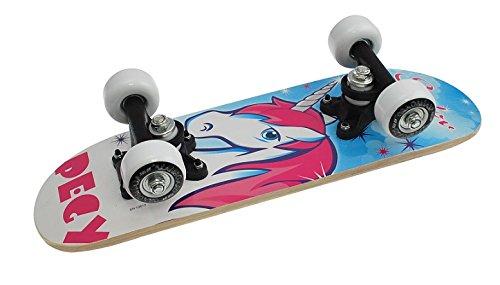 Truly Kinder Skateboard Mini 17 X 5, Blau/Rosa, Zoll