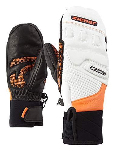 Ziener Kinder LISORO AS(R) Mitten JUNIOR Glove Race Ski-Handschuhe, Poison Orange, 7