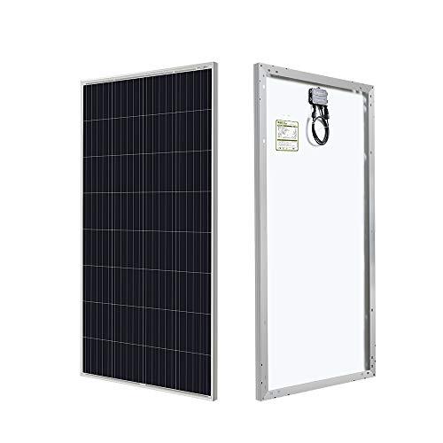 HQST 150W 12V Poly Solar Panel 150 Watt Off Grid PV Power RV