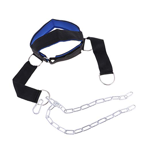 Perfeclan Head Harness Neck Muscle Builder Necks Training Weight Lifting Chain Trainer