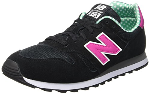 New Balance Damen Wl373 Sneaker, Schwarz (Black), 40.5 EU