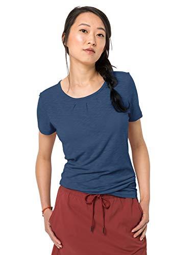 Jack Wolfskin Travel Drape T-Shirt Femme, Ocean Wave, FR : 2XL (Taille Fabricant : XXL)