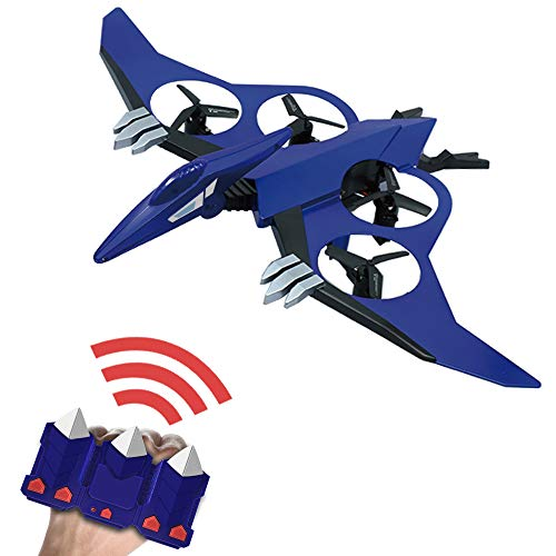 Gesture Control Quadcopter with 720P Camera Pterosaur Mini Drone for Kids/Beginner Easy to Fly Quadcopter Drone 2.4GHz 6 Axis Gyro/One-Key take Off/Headless Mode/Altitude Hold,Great Gift