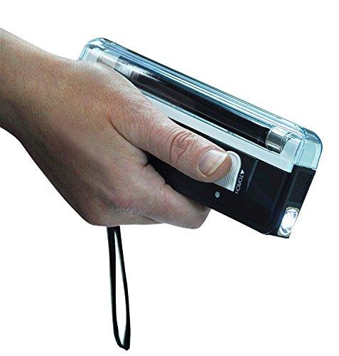 Preisvergleich Produktbild Electrovision Taschenlampe UV Licht von Wood,  für Kontrolle Banknoten