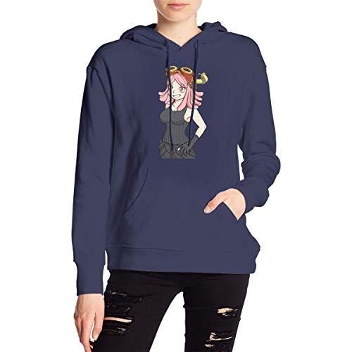 Chansy My Hero Academia Boku No Hero Hatsume Mei Women's Sweater Hoody Pullover