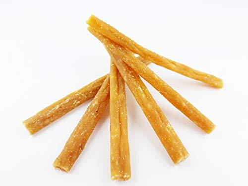 Maced Hundesnack Sticks von Geflügel mit Käse 50 g, Gelber Käse ist eine reichhaltige Quelle von Protein und Kalzium Hundeleckerli 10er Pack (10 x 50 g)