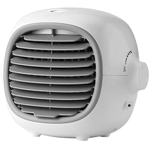 Aire Acondicionado Portátil Personal del acondicionador de aire del USB ventilador enfriador evaporativo portátil de agua del aire del ventilador del refrigerador con tanque de agua - Control de veloc