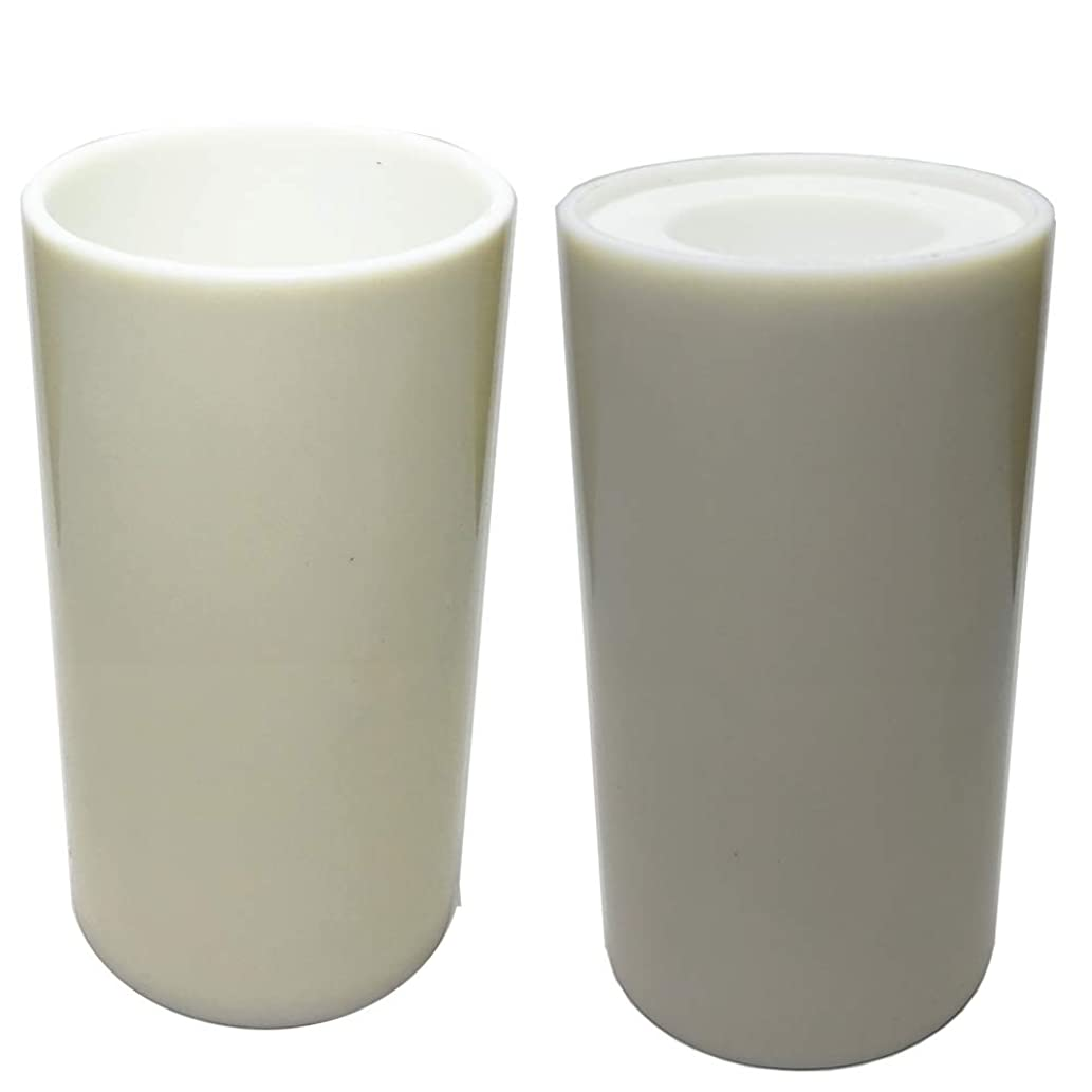 Candle Mold-Сylinder Mold - Height: 5 in, Diameter: 2.55 in. Plastic Candle molds for Making Candles