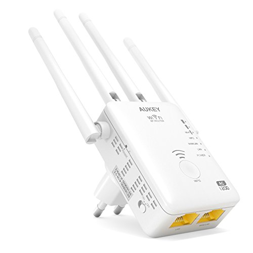 Aukey WF-R8–WLAN-Repeater, weiß