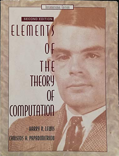 Elements of the Theory of Computation: International Editionの詳細を見る