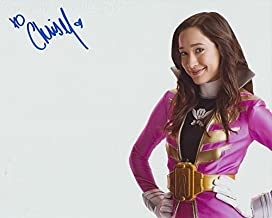 CHRISTINA MASTERSON as Emma Goodall the Pink Megaforce Ranger - Power Rangers Megaforce GENUINE AUTOGRAPH