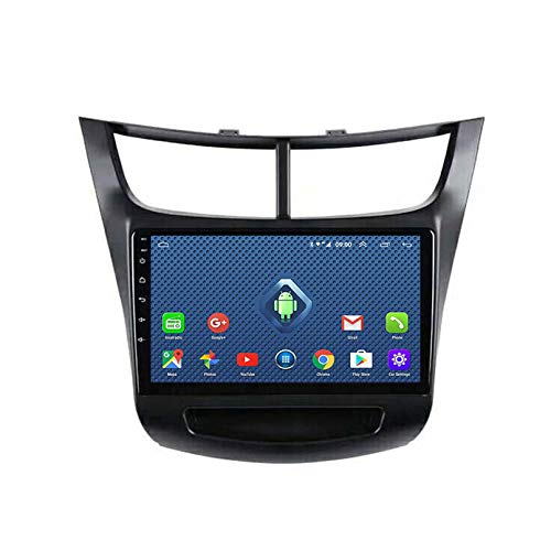 Android 8.1 Radio De Automóvil para 2015 2018 Chevrolet Sail Car Stereo GPS Navegación Táctil Pantalla Coche Player Doble DIN Head Unit Support WiFi Control De Volante(Color:4G+WiFi:1+16G)