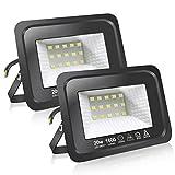 Faretti a LED per esterni 20W Potenti luci a LED per esterni...