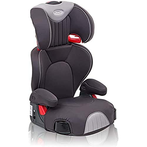 Graco Logico L High back Booster Car Seat, Group 2/3 (4 to 12 Years Approx, 15-36 kg), Iron