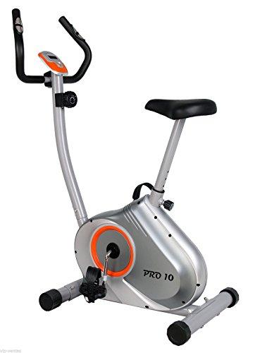 Pro10 Bicicleta estática Regulable con Micro Ordenador