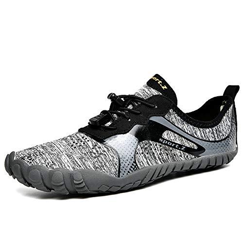 Chaussures De Plage pour Hommes Chaussures en Amont Été Randonnée Casual Creek Water Shoes Chaussures De Natation Outdoor Quick Dry Sports Aqua Shoes,39EU