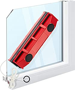 "Tyroler Bright Tools The Glider S-1 Magnetic Window Cleaner for Single Glazed Windows Fits 0.1""-0.3"" Window Thickness. Glass Cleaner"