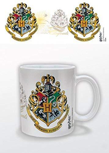 HARRY POTTER – Taza de cerámica con el Escudo de Hogwarts en Caja de presentación