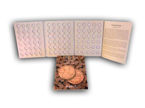 H.E. Harris Coin Folder Book Lincoln Cent Starting 1975 New