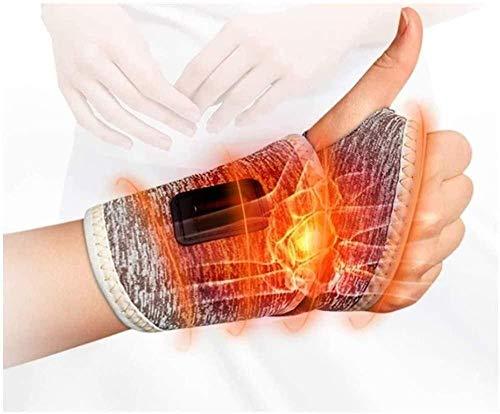 Muñequera de Carga Envoltura térmica de Mano y muñeca con Controlador de 3 Niveles Masajeador de Mano Ajuste de Traje de Terapia de frío Caliente para la Artritis Dolor del túnel carpiano Tendini