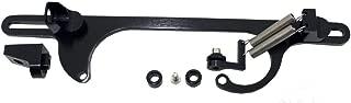 Black Aluminum Anodized Throttle Cable Bracket for 4150 Style Series Carburetor