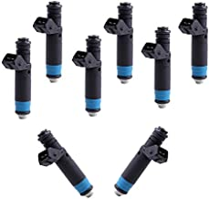 ROADFAR 8pcs Fuel Injector Part Fit Ford F-150/Heritage/Mustang,Chevy Camaro/Corvette/Impala,Chrysler 300,Jeep Grand Cherokee,Dodge Challenger/Charger/Magnum,BMW Alpina B7/650i/X5/545i/645Ci/745i/745L