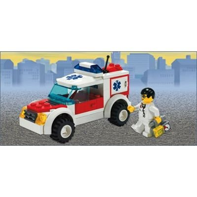 LEGO City 7902 - Notarztwagen