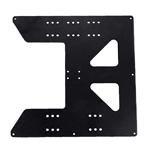 NIDONE 3D Printing Zubehör Z Axis Support Aluminiumplatte für Aufheizschüttung Kompatibel mit Anet A8 A6 Drucker