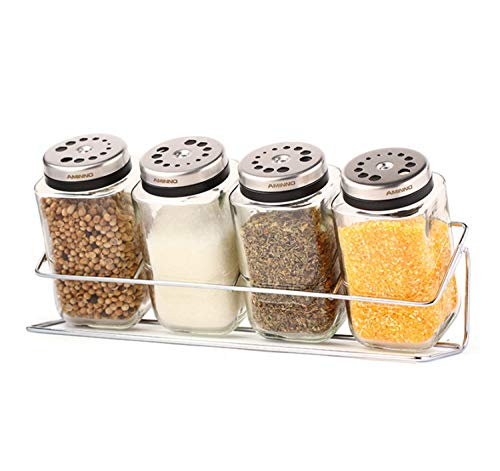 Cocina Rack Holder De Acero Inoxidable Glass 25.5 * 9.7 * 12.5CM...