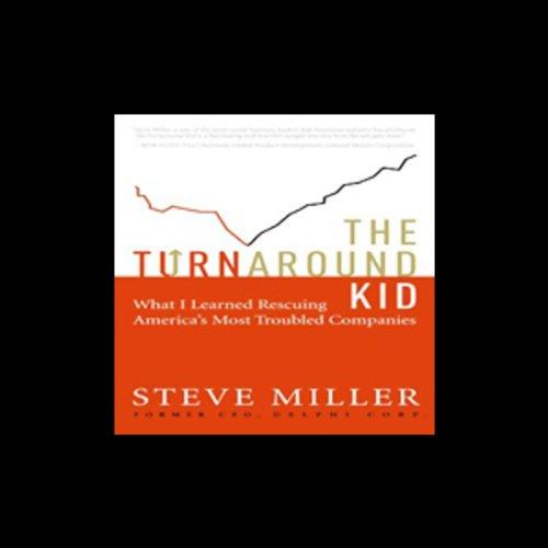 The Turnaround Kid audiobook cover art