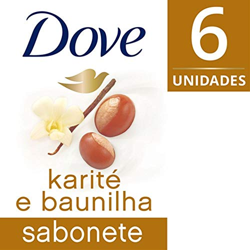 Kit Sabonete Dove Karite Com 6 Unidades 90g Preço Especial
