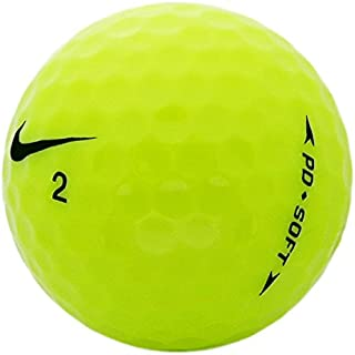 nike yellow golf balls