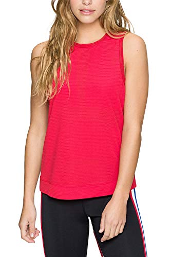 Kyodan Exclusives Womens Duo Mesh Tank - rosso - Medium