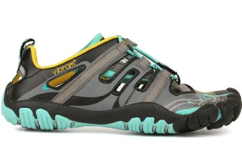 Vibram Fivefingers  Trekking Light/Running 13W4304 Treksport Sandal, Damen Laufschuhe grau EU 37 thumbnail