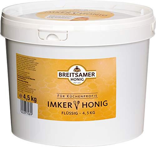 Breitsamer Imkerhonig Für Küchenprofis, Blütenhonig - flüssig, 4500 g