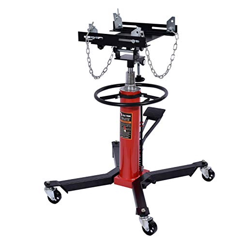 N\P Transmission Jack 2 Stage Hydraulic w/ 360° for car Lift auto Lift 0.75T, 1660lbs