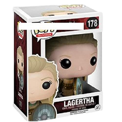 Pop Figures Anime VikingsLagertha#178PVCAction Figure Collection Model Toys For Children Xmas Gift with Box 10Cm