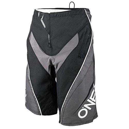 O'Neal Element Blocker Youth kinderen FR MX DH MTB korte broek zwart/grijs 2018 Oneal
