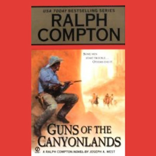 Guns of the Canyonlands audiobook cover art