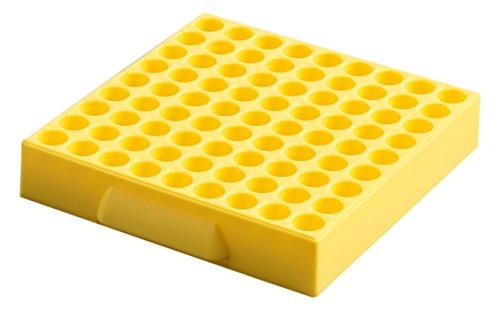 Camlab plastica, RTP/Y -76000 81 luogo Maxicold ganci in polipropilene, colore: giallo (Confezione da 5)