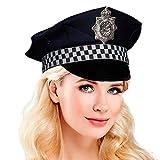Gorra Policía Tela Damero