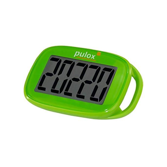 PULOX Schrittzähler Pedometer PS-100 einfach mit 3D Sensor