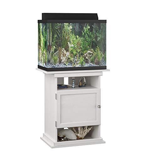 Ollie & Hutch Ameriwood Home Flipper 10/20 Gallon Aquarium Stand,...